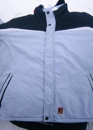 Куртка зимова frontpage silver black dove waterproof оригінал
