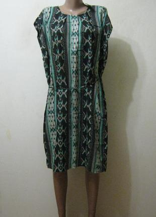 Платье прямого силуэта saint tropez (индия) новое в свободном ...