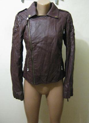 Куртка косуха новая(искусственная кожа) арт.150 + 1500 позиций...