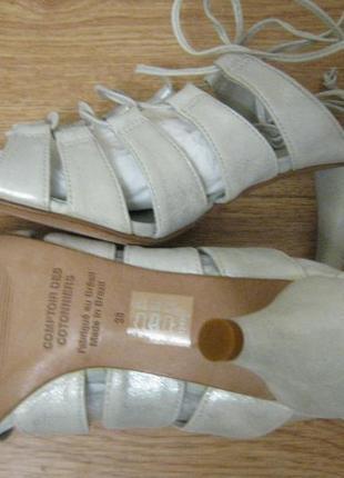 Босоножки натуральная кожа новые + 1500 позиций магазинной одежды