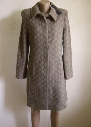 Итальянское бежевое пальто cristina gavioli новое арт.240 + 20...