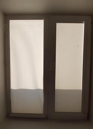 Вікна металопластикові б/у розмір120 x150 см