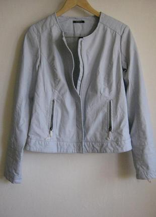 Куртка голубая promod (искусственная кожа)арт.900 + 1500 позиц...