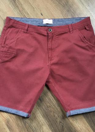 Фирменные мужские шорты чиносы кэжуал brave soul