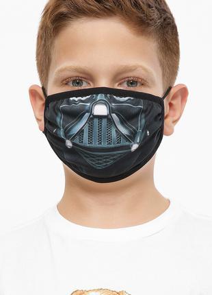 Детская защитная маска для лица с принтом Дарт Вейдер (75-GL)