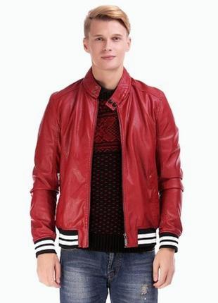 Куртка весна - осень новая искусственная кожа арт.840 + 1800 п...