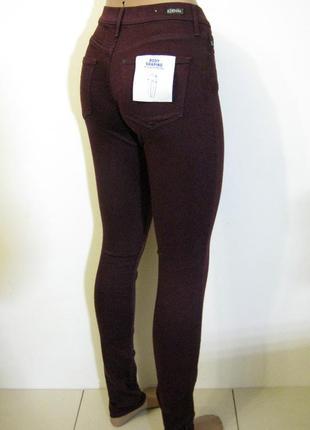 Бордовые демисезонные джинсы h&m новые арт.235 + 2000 позиций ...