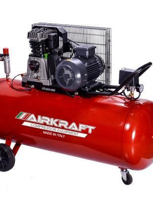Компрессор 200 литров, 510л/мин, 380В AIRKRAFT AK200-510-380
