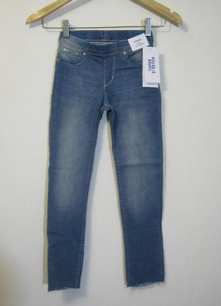 Голубые джинсы h&m новые арт.255 + 2000 позиций магазинной одежды