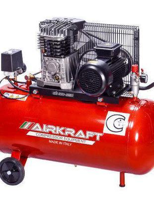 Воздушный компрессор 100л, 360л/мин, 380В AIRKRAFT AK100-360M-...
