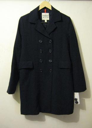 Пальто весеннее от mango новое  + 2000 позиций магазинной одежды