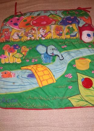 Игровой музыкальный коврик CHICCO чико