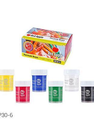 Краски, пальчиковые, 25 мл RP30-6 [kra152854-TSI]