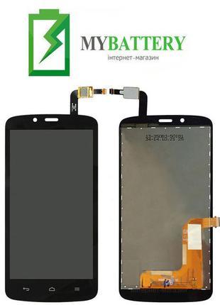Дисплей (LCD) Huawei Honor 3C Lite (Holly-U19) с сенсором черный