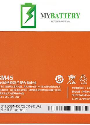 Оригинальный аккумулятор АКБ батарея Xiaomi BM45 для XIAOMI Re...