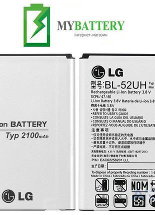 Оригинальный аккумулятор АКБ батарея LG BL-52UH L65 L70 D280 D...