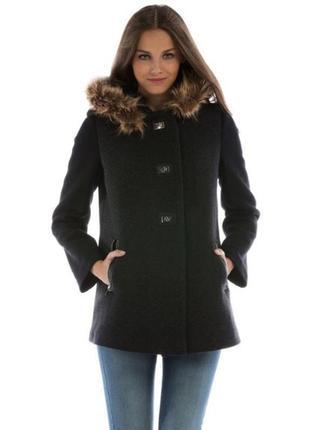 Пальто шерстяное colin's новые + 1500 позиций магазинной одежды