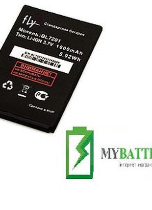 Оригинальный аккумулятор АКБ батарея Fly BL7201, IQ445