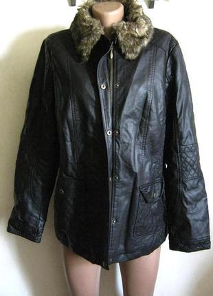 Куртка scottage новая искусственная кожа + 1500 позиций магази...