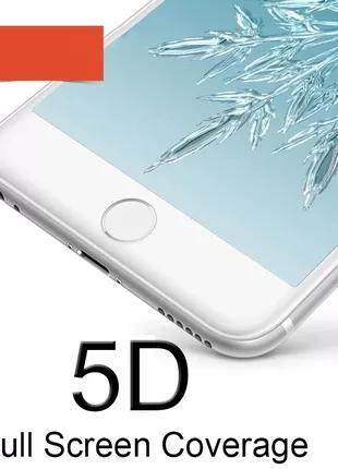 IPhone 6, 6S+, 7, 7+, 8, 8+, X, XS, XR - Закаленное Стекло 5D