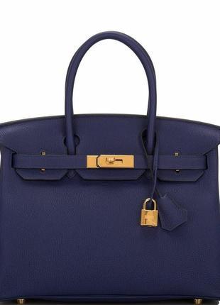 ⛔️брендовая кожаная сумка hermes birkin,⛔️синяя сумочка, красн...