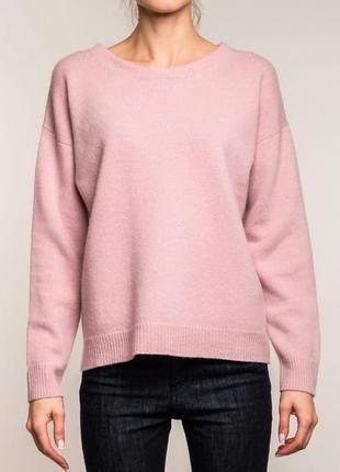 Нежно розовый свитер, кофта, джемпер benetton