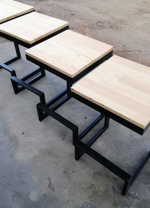 Барные стулья в стиле лофт для кафе ресторана дома