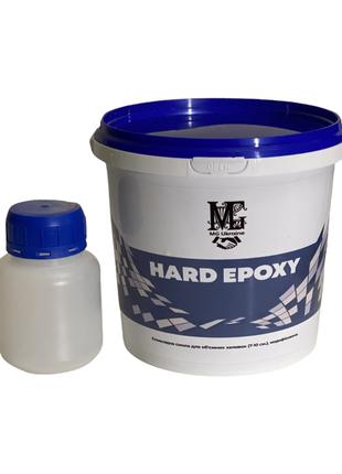 Эпоксидная смола HARD EPOXY прозрачная для заливок столешниц 1кг