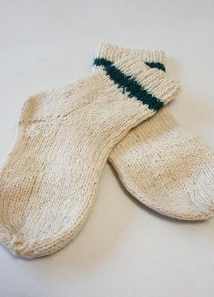 Детские вязаные носки, 14 см