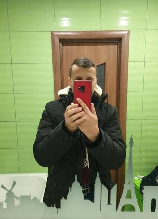 Зимная мужская куртка