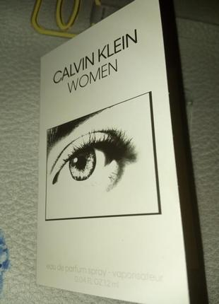 Пробник calvin klein women парфюмерная вода,