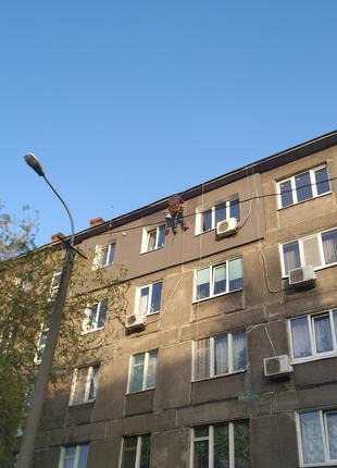 Утепление фасадов квартир, домов. Высотные работы, герметизаци...