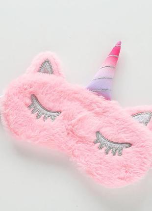 14-69 маска для сна єдиноріг единорог unicorn