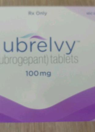 Ubrelvy - таблетки от мигрени и сильной головной боли
