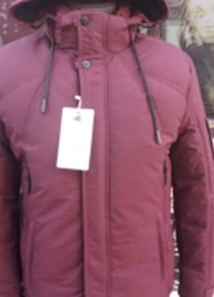 Мужская  зимняя  куртка      black  wolf