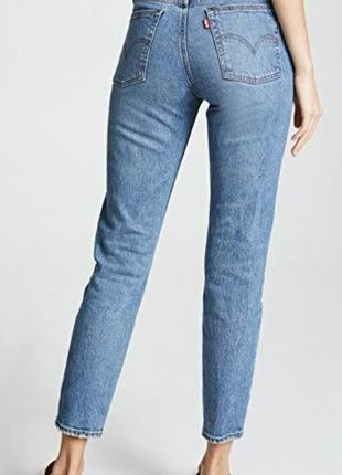 Levi's 512, джинсы скинни оригинал, голубые джинсы, плотные дж...