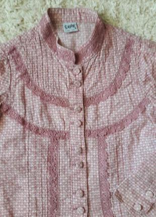 Рубашка блузка на девочку
