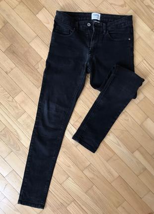 Чёрные мужские джинсы от PULL&BEAR