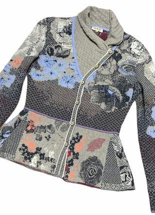Кофта свитер ivko в стиле missoni
