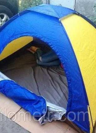 Двухместная туристическая палатка водонепроницаемая