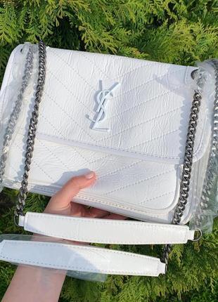 Niki клатч сумка кожа