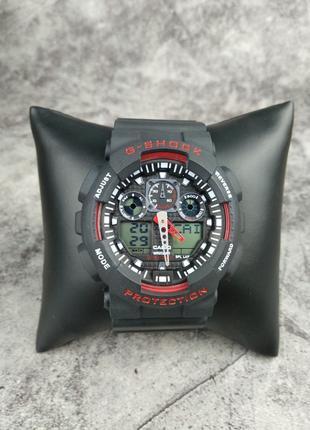 Casio G-Shock Ga100 (Black-Red)
