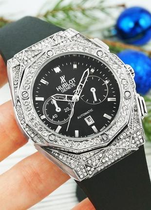 Стильные женские часы hublot