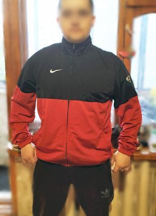 Оригинальная мастерка спортивная кофта куртка найк nike рост 180