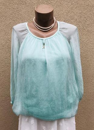 Нежная,шелковая блузка реглан,рубаха,этно,бохо стиль,италия