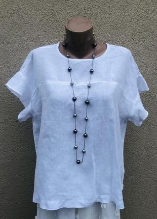 Лён,блуза,рубаха,большой размер,этно,бохо стиль