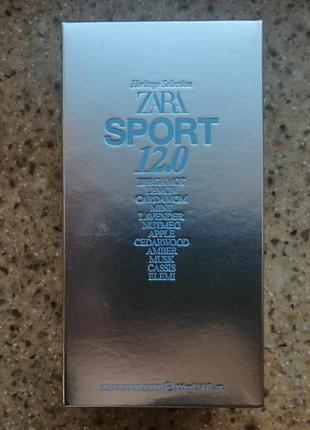 Zara edt sport 12.0 100 ml туалетная вода
