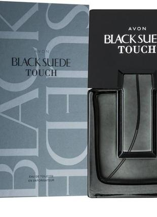 Avon парфюм black suede touch 75 мл