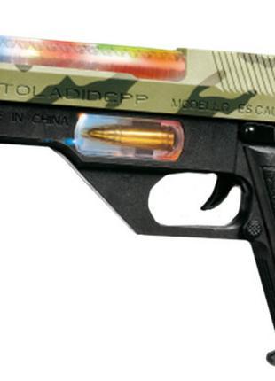 Пистолет свето-звуковой 814ZT Пустынный орел