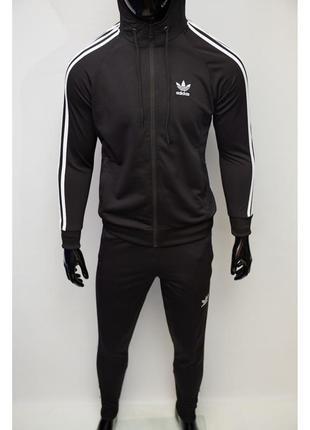 Костюм спортивный мужской adidas 1120 черный
